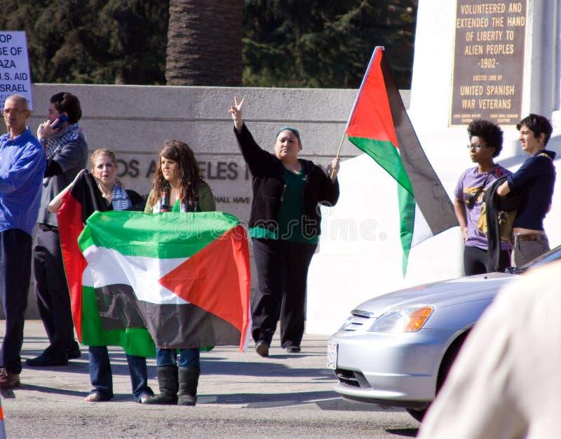 israel palestenian fred royaltyfria foton