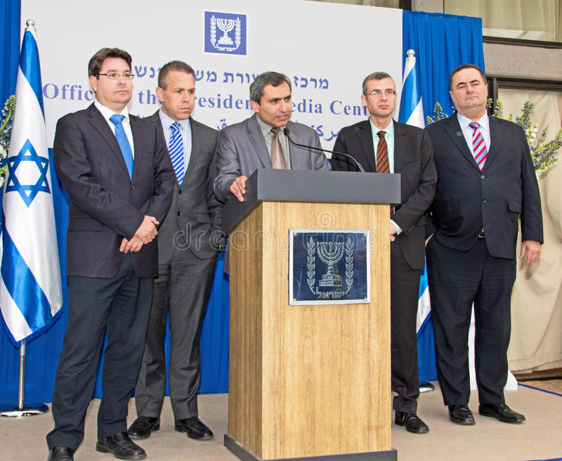 2015 Israel Parliamentary Elections stock foto