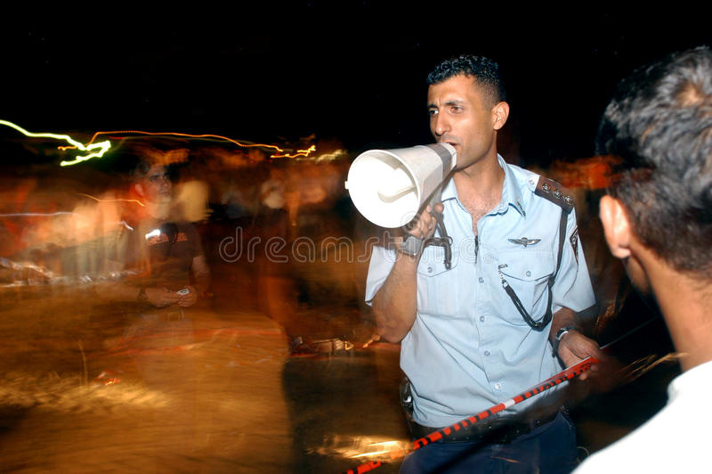 Israel Police stockfotos