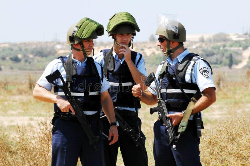 Israel Police Imagen de archivo editorial