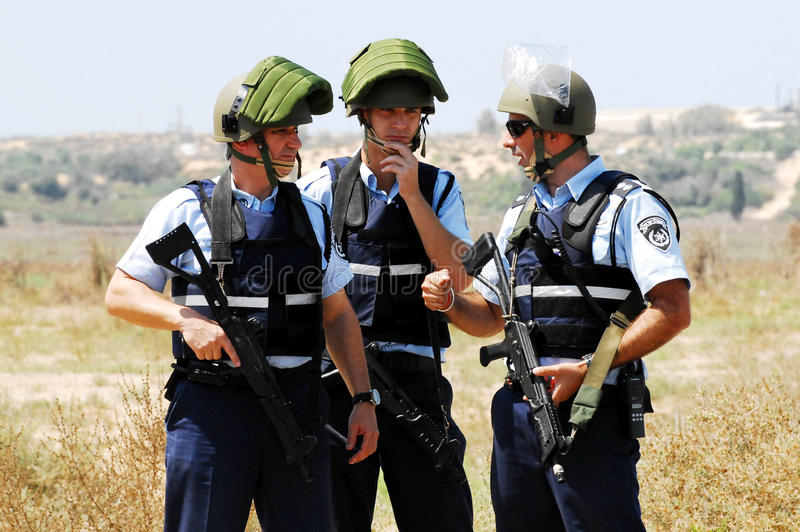 Download Israel Police editorial stock image. Image of policeman - 33244584