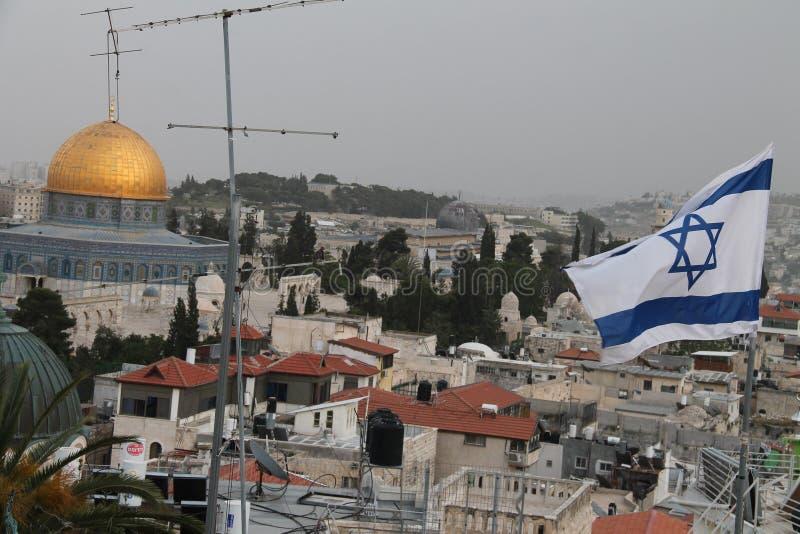 Israel prügeln mich t zum Stechpalmenberg stockfotos
