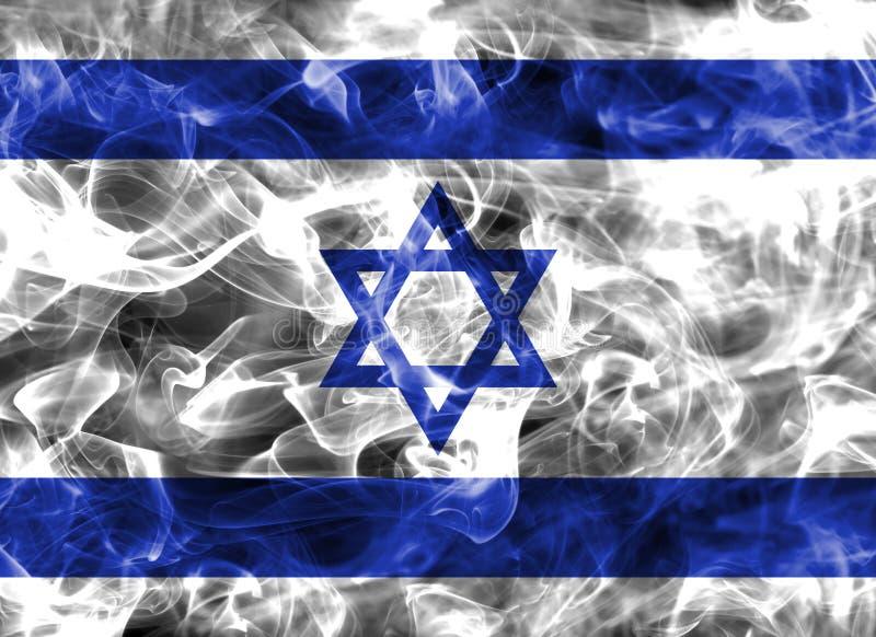 Israel-Rauchflagge stock abbildung