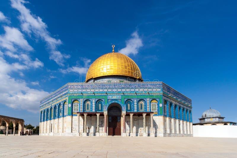 Israel rock Jerusalem kopuły obraz stock