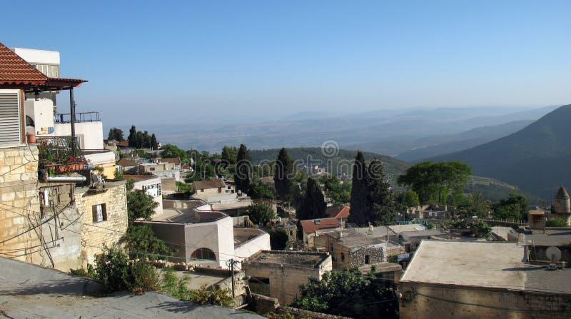 israel safed royaltyfria foton