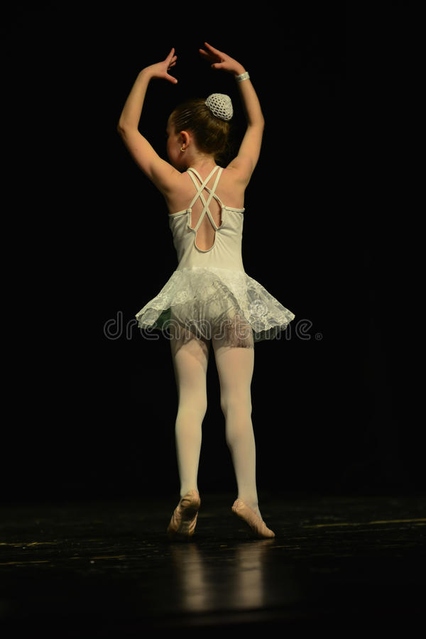 Israeli child ballerina dancer stock photos
