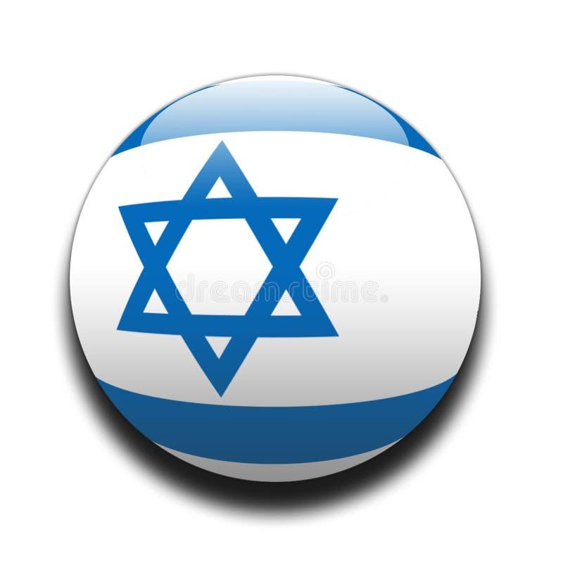 Israeli flag vector illustration