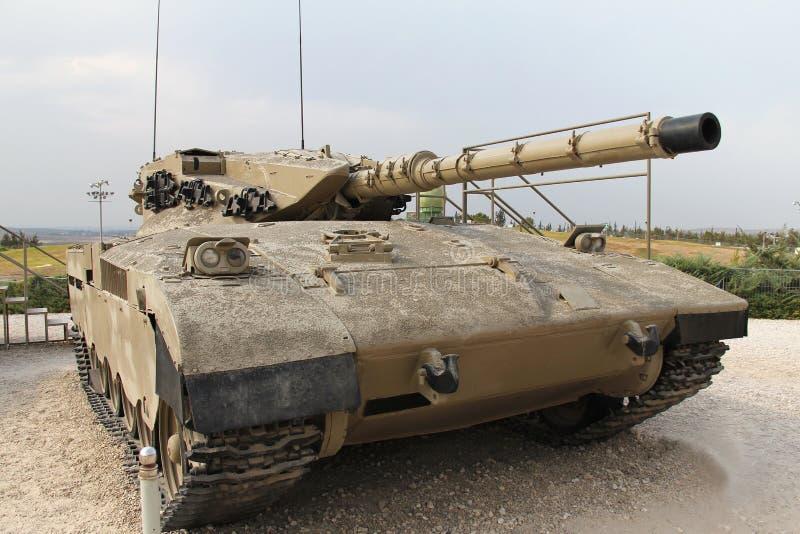 Israeli Merkava Mk I tank. Old Israeli Merkava Mk I tank stock images