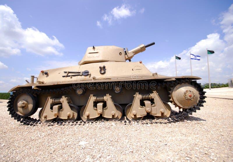 Israeli vintage tank royalty free stock image