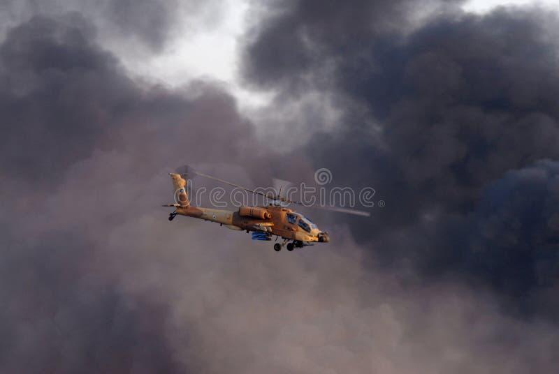 Israelischer Luftwaffen-Hubschrauber stockbilder