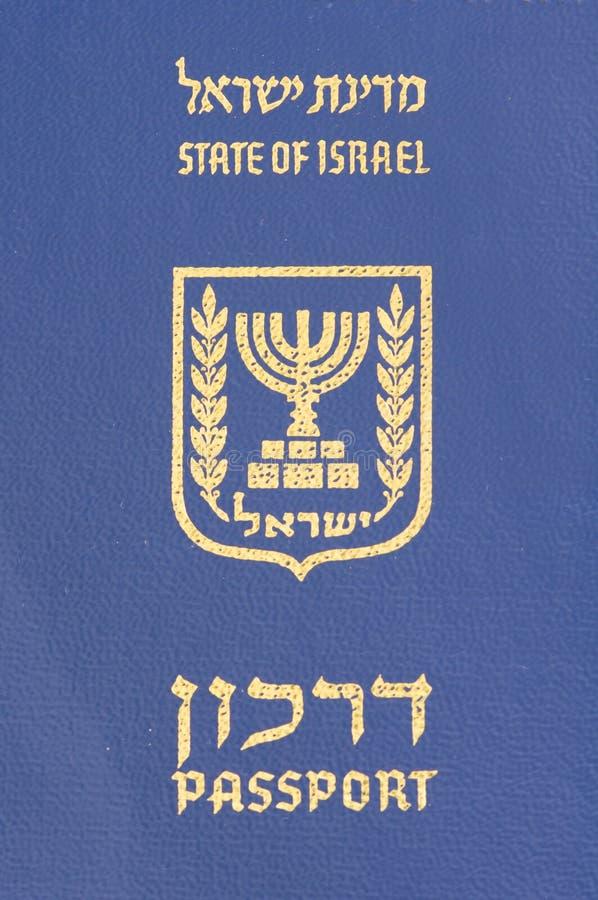 israeliskt pass royaltyfri fotografi