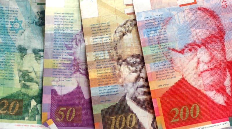 israelsikel för 2 bills royaltyfri bild