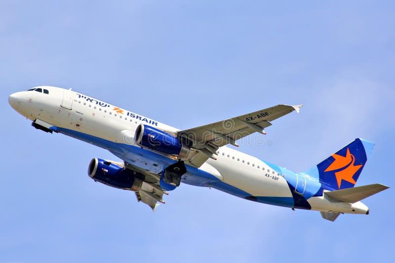 Israir Airlines Airbus A320 fotografia stock