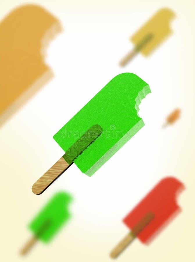 isrefreshment vektor illustrationer