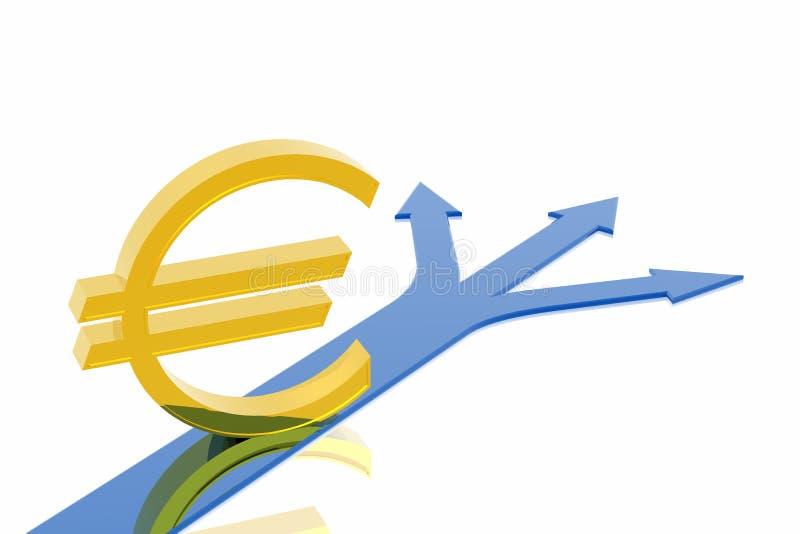 Isso será com euro? ilustração do vetor