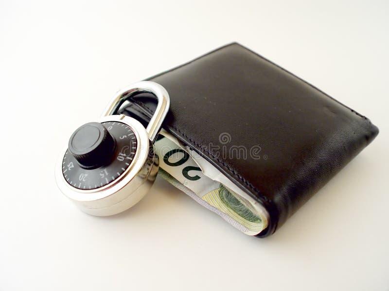 Ist Ihr Geld-Safe lizenzfreies stockbild