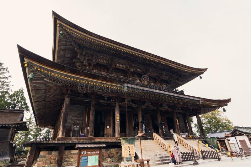ist Zao-tun die Haupthalle von Kinpusen-jitempel stockbild