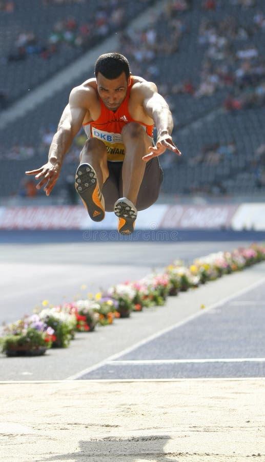 Istaf Berlin internationale goldene Liga-Athletik stockfotografie