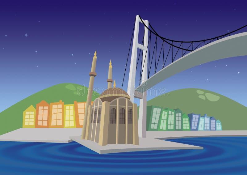 Istambul ilustração stock