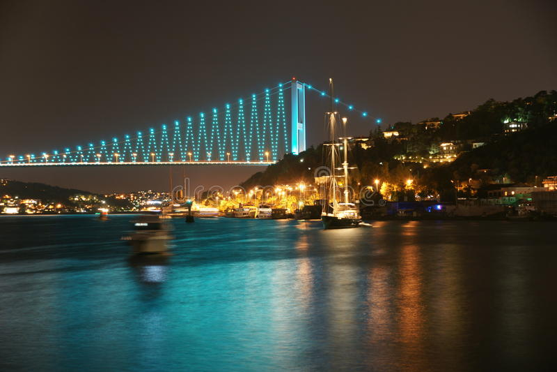 Download Istambul Bosphorus Bridge stock image. Image of tourism - 17404867