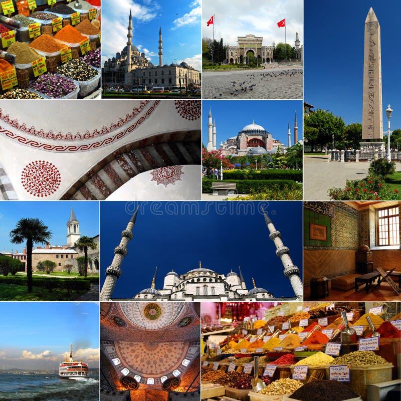 Istambul - capital europeu da cultura 2010 fotografia de stock