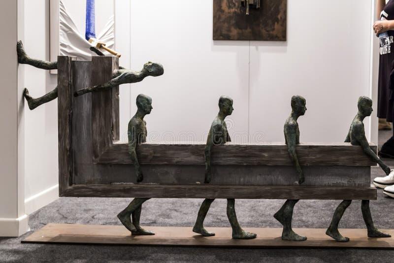 Istambul contemporânea Art Show fotografia de stock
