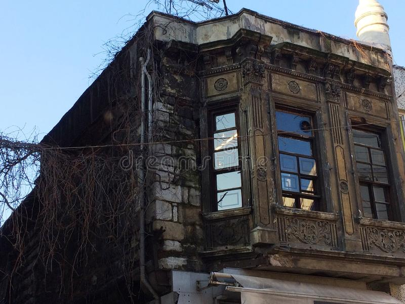 Istambul de construção velha imagens de stock