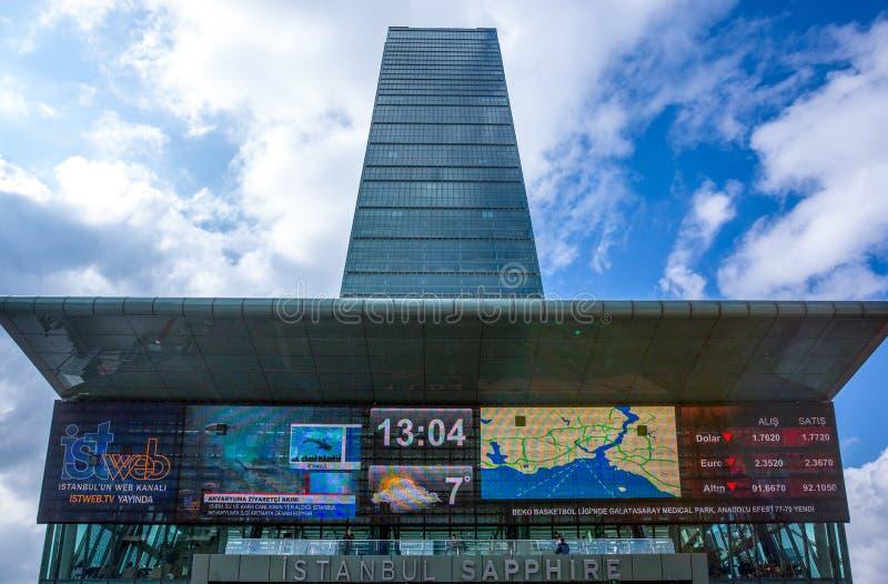 Istambul e a coexistência da arquitetura clássica e ultramodern foto de stock royalty free