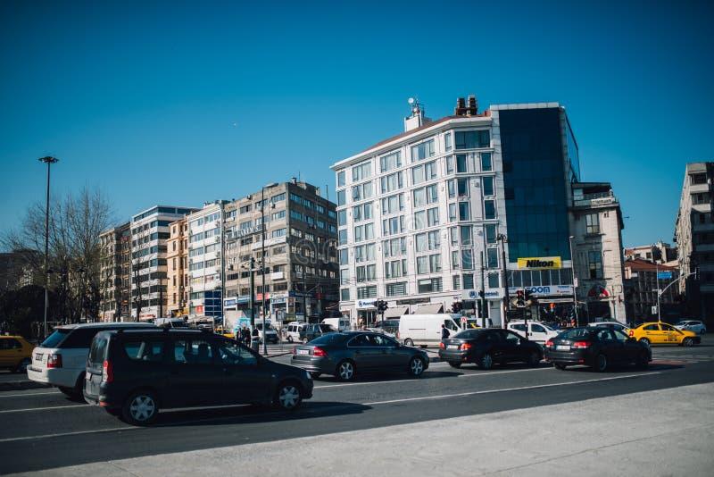 Istambul Kennedy Avenue imagens de stock