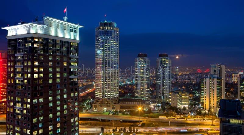 Istambul Levent foto de stock royalty free