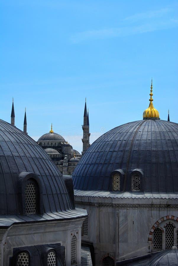 Istambul - a mesquita azul foto de stock royalty free