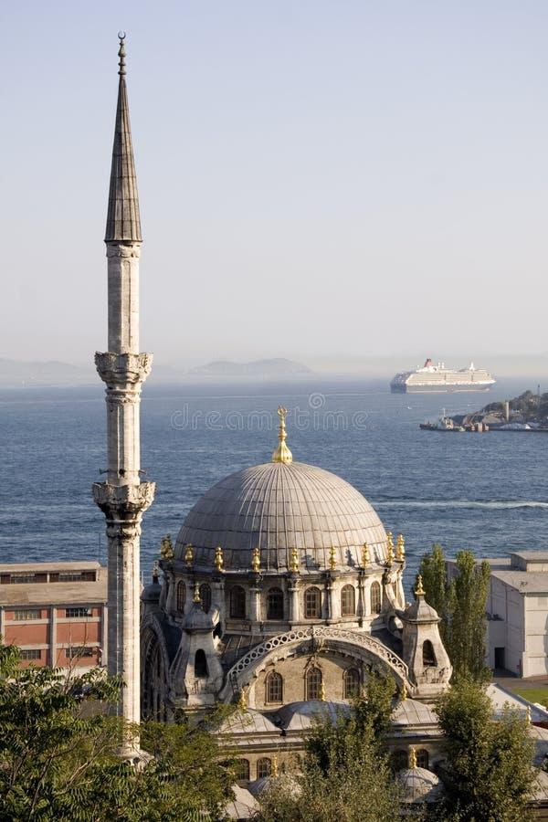 Istambul Nusretiye Cami imagens de stock