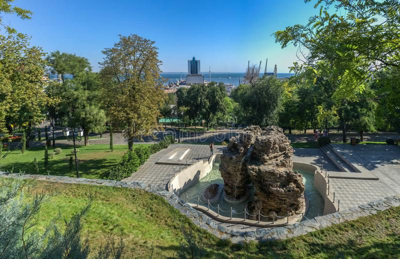 Istambul Park in Odessa, Ukraine royalty free stock images