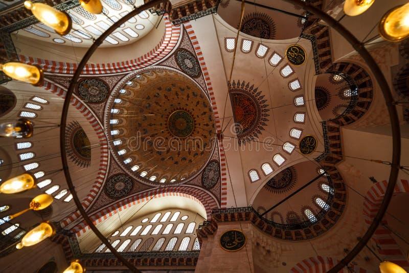 Istambul peru abóbada do novembro de 2018 da mesquita projetada pelo quizlet - túmulo do magnífico imagens de stock