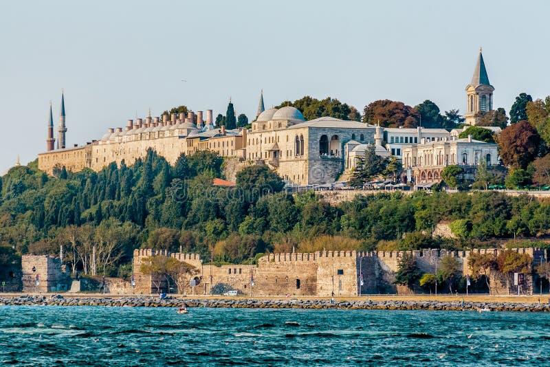 Istambul, Turquia, o 8 de outubro de 2011: Palácio de Topkapi fotos de stock