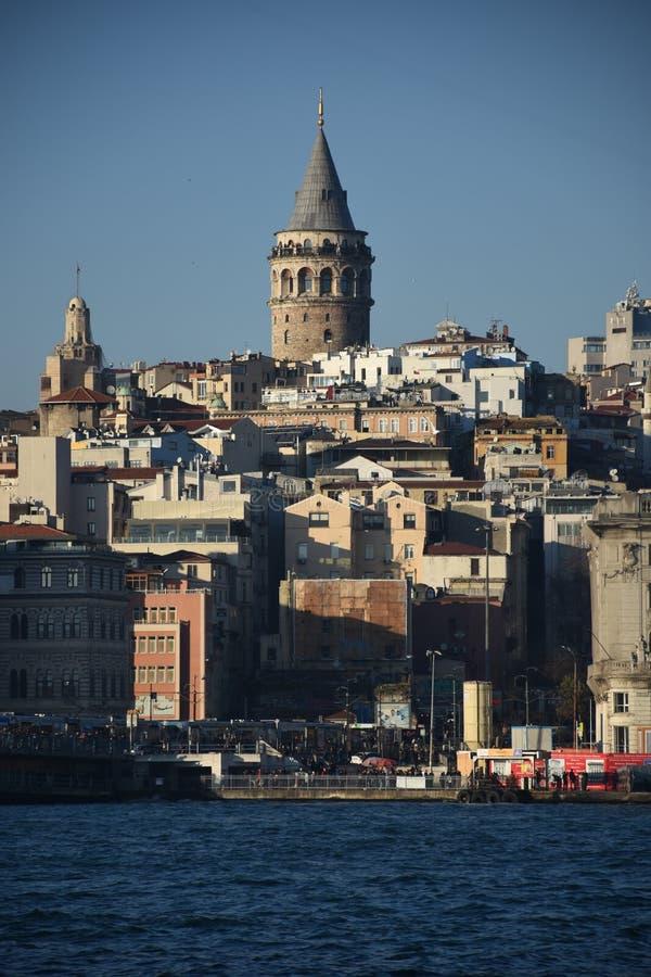 Istambul, Turquia Torre de Galata foto de stock