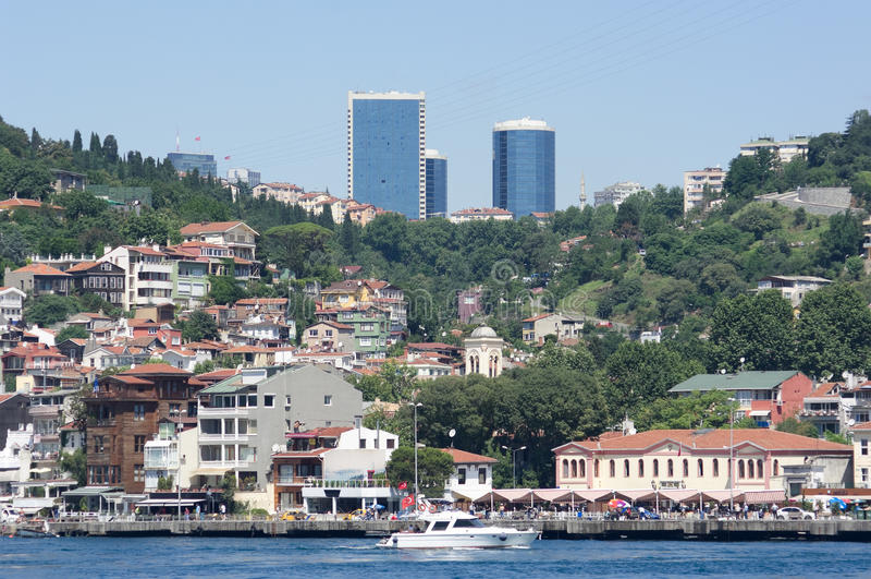 Istambul, vila de Arnavutkoy fotos de stock