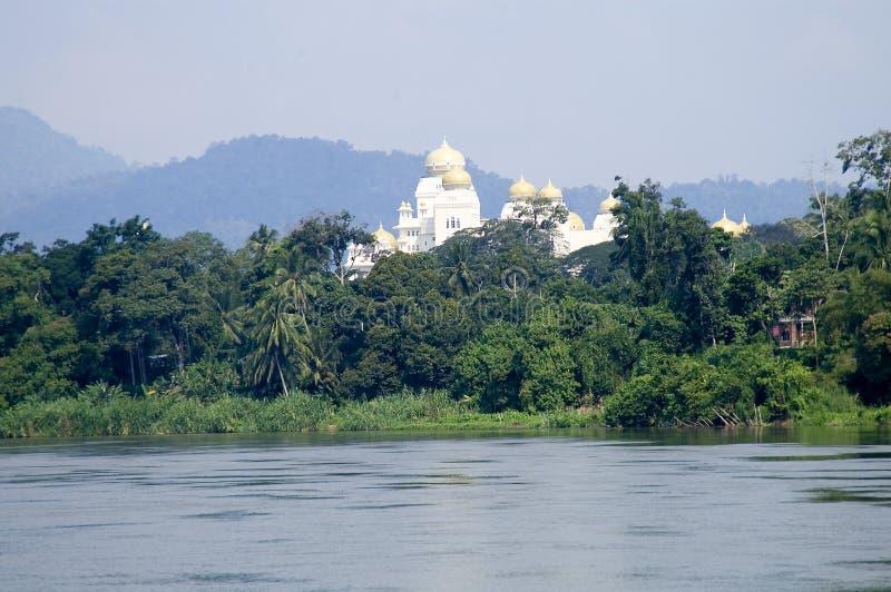 Istana Iskandariah stock afbeelding