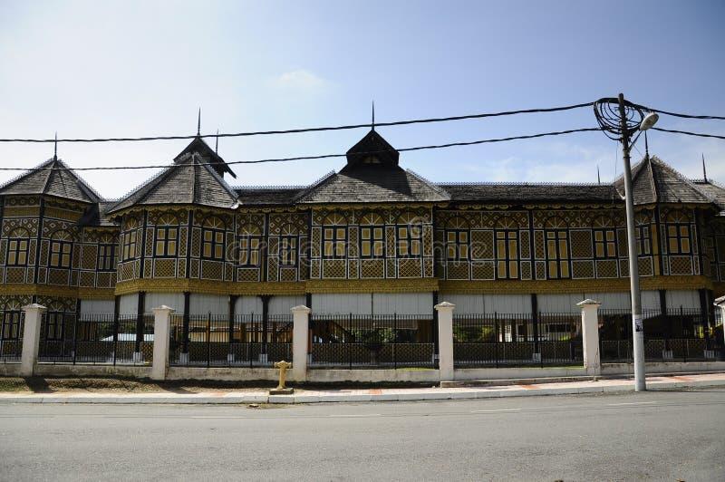 Istana Kenangan (Remembrance Palace) in Perak, Malaysia. KUALA KANGSAR, MALAYSIA – JANUARY, 2014: The Istana Kenangan was a royal residence in Kuala royalty free stock image