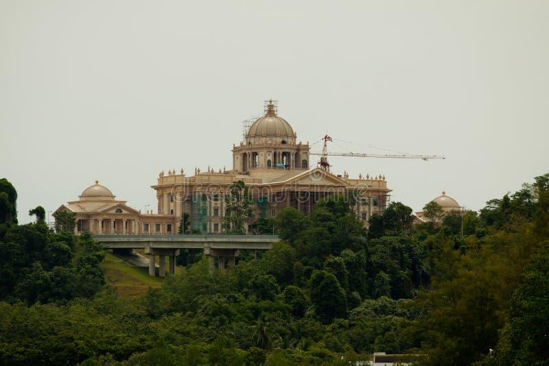 Istana Nurul Iman Bandar Seri Begawan, Brunei Darussalam, Ásia foto de stock royalty free