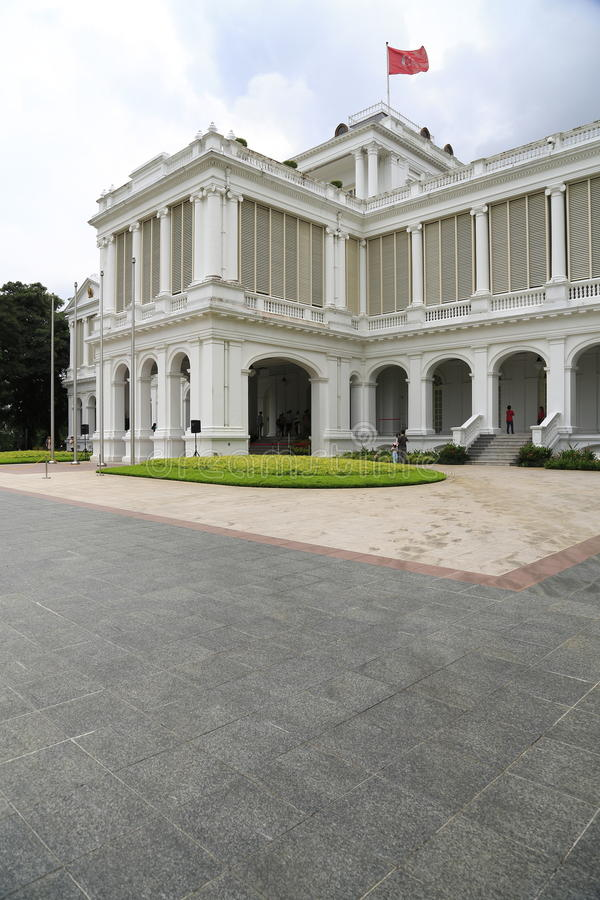 Download Istana Singapore 4 stock image. Image of park, minister - 30758299