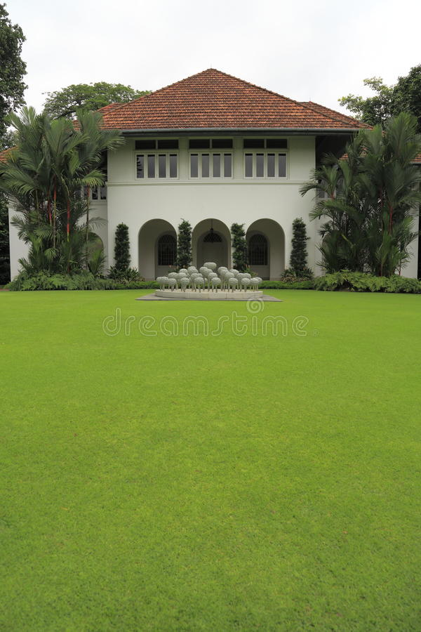 Istana Singapore 6. Singapore persidential building and premises royalty free stock photography