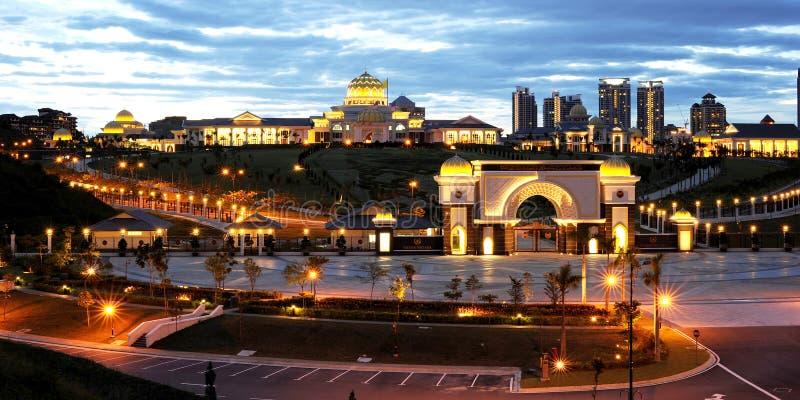 Istanaen Negara Jalan Duta arkivbilder
