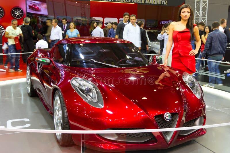 Download Istanboel Auto toont 2012 redactionele stock afbeelding. Afbeelding bestaande uit auto - 29508474