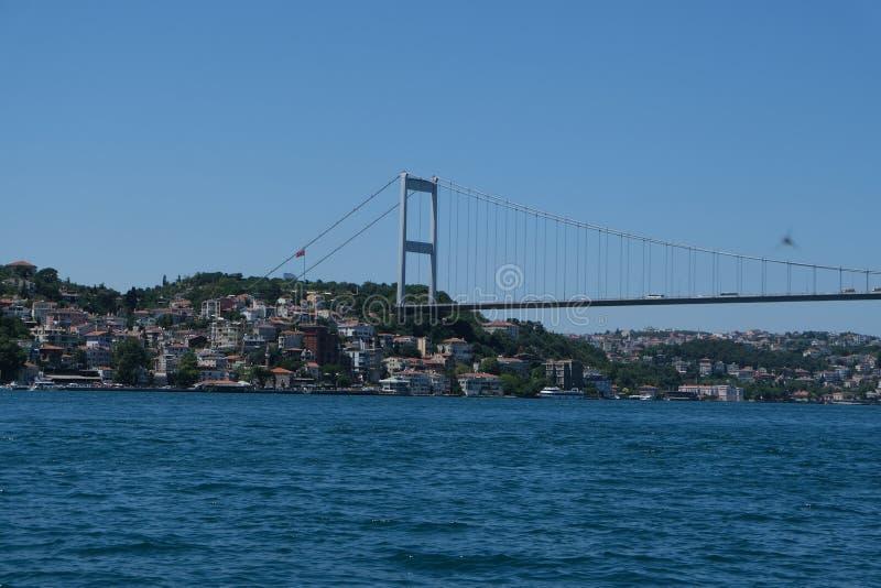 Istanboel, Turkije Bosphorus royalty-vrije stock afbeeldingen