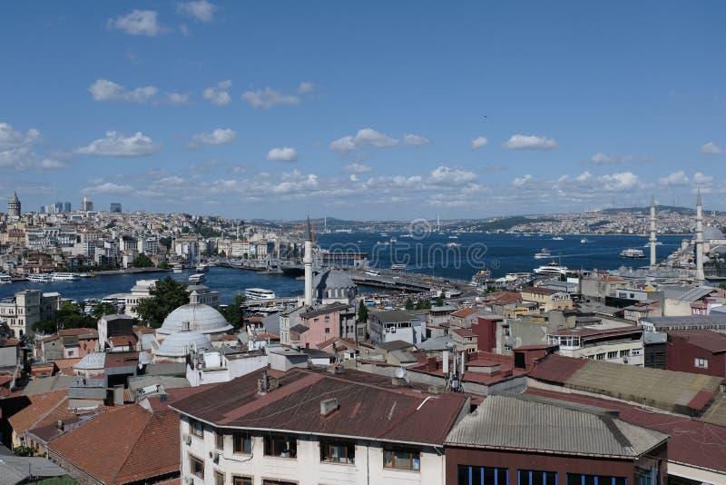 Istanboel, Turkije Bosphorus stock fotografie