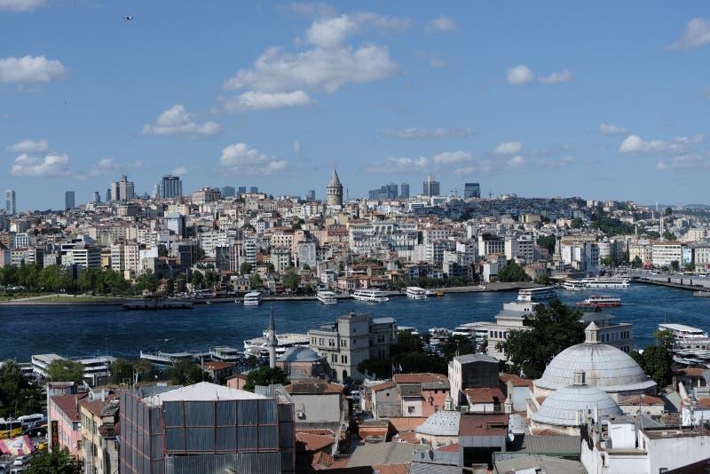 Istanboel, Turkije Bosphorus royalty-vrije stock afbeelding