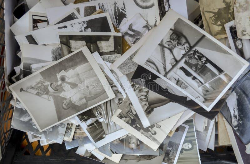 Istanbuł antykwarski okręg w à ‡ ukurcuma, stary rodzinnych fotografii zol fotografia stock