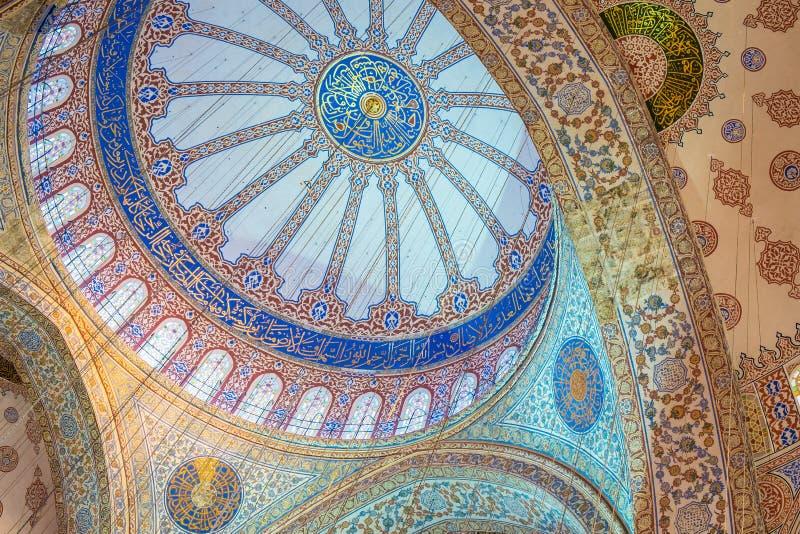 Istanbuł błękita meczet zdjęcia royalty free