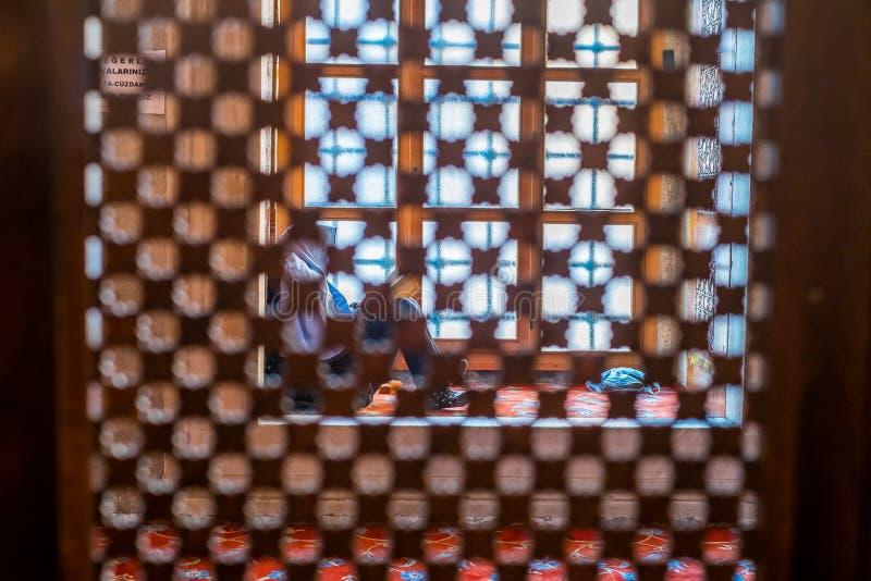 Istanbuł błękita meczet obraz royalty free